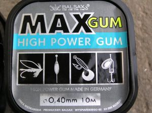 High Power Gum Balsax 0,40 mm (feedrova guma)
